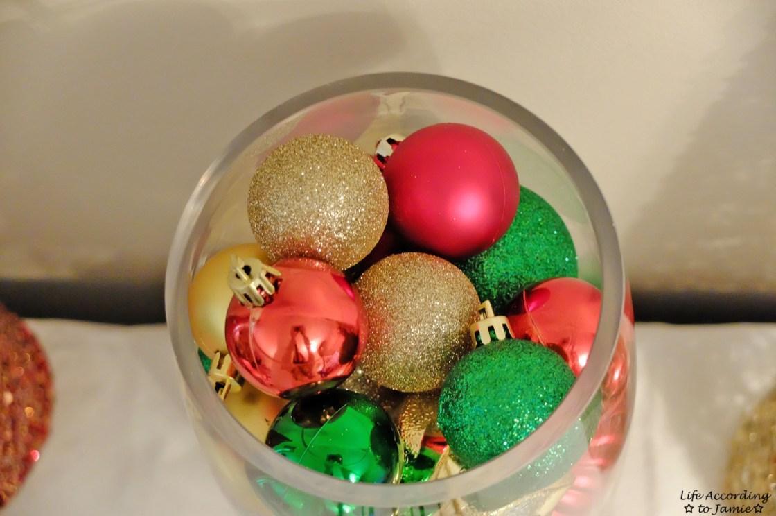 Ornaments in Vase