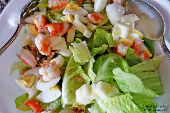 Pan-Fried Shrimp Salad 1