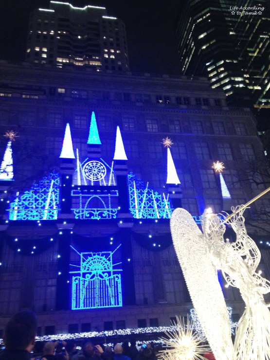 Saks Light Show 1