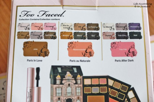 Too Faced Grand Chateau Shades