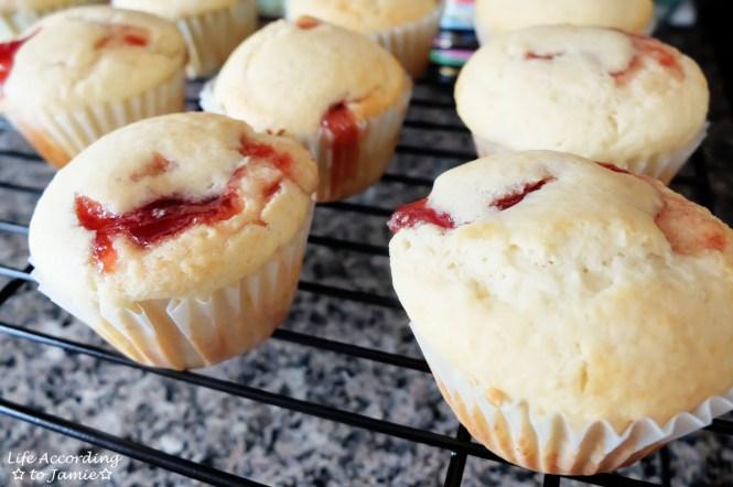 Jam Filled Muffins 4