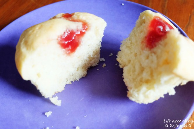 Jam Filled Muffins 5