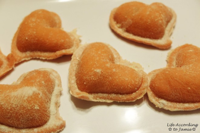 Heart Shaped Ravioli 1