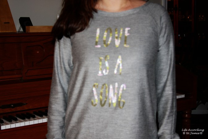 Love is a Song - Sweater