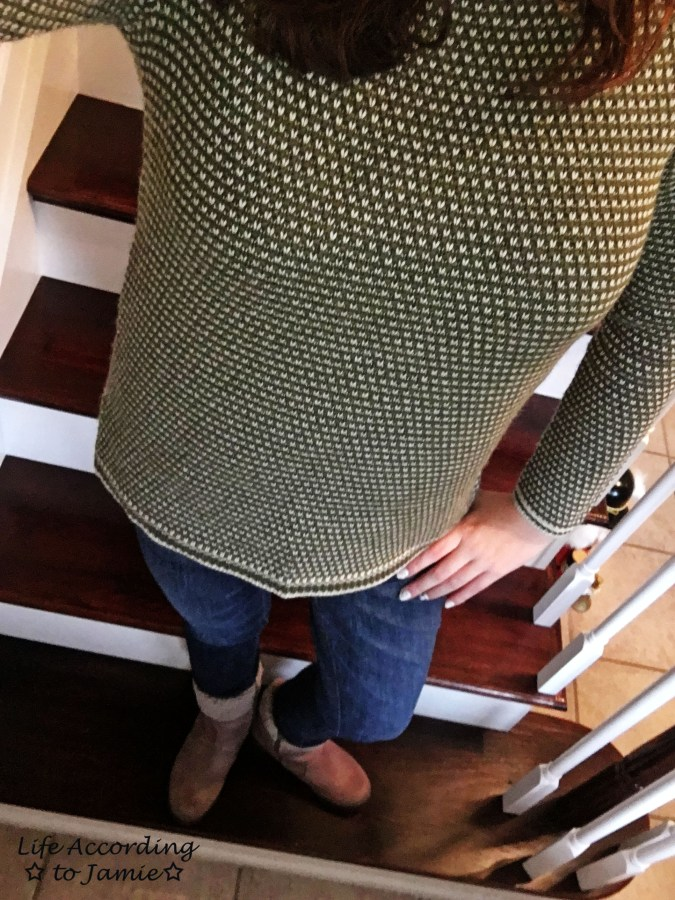 Olive Green Knit 2