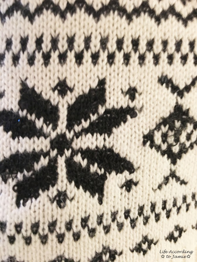 Snowflake Sweater 1