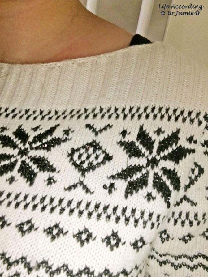 Snowflake Sweater 2