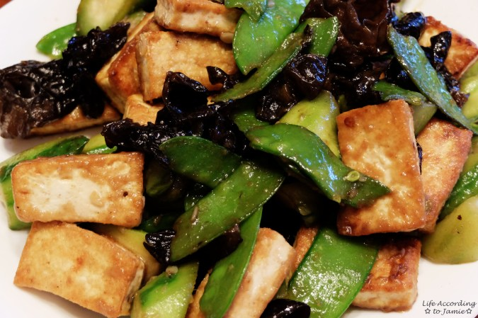 Tofu & Vegetable Stirfry 1