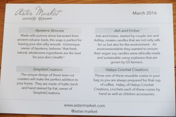 March 2016 Aster Market 2