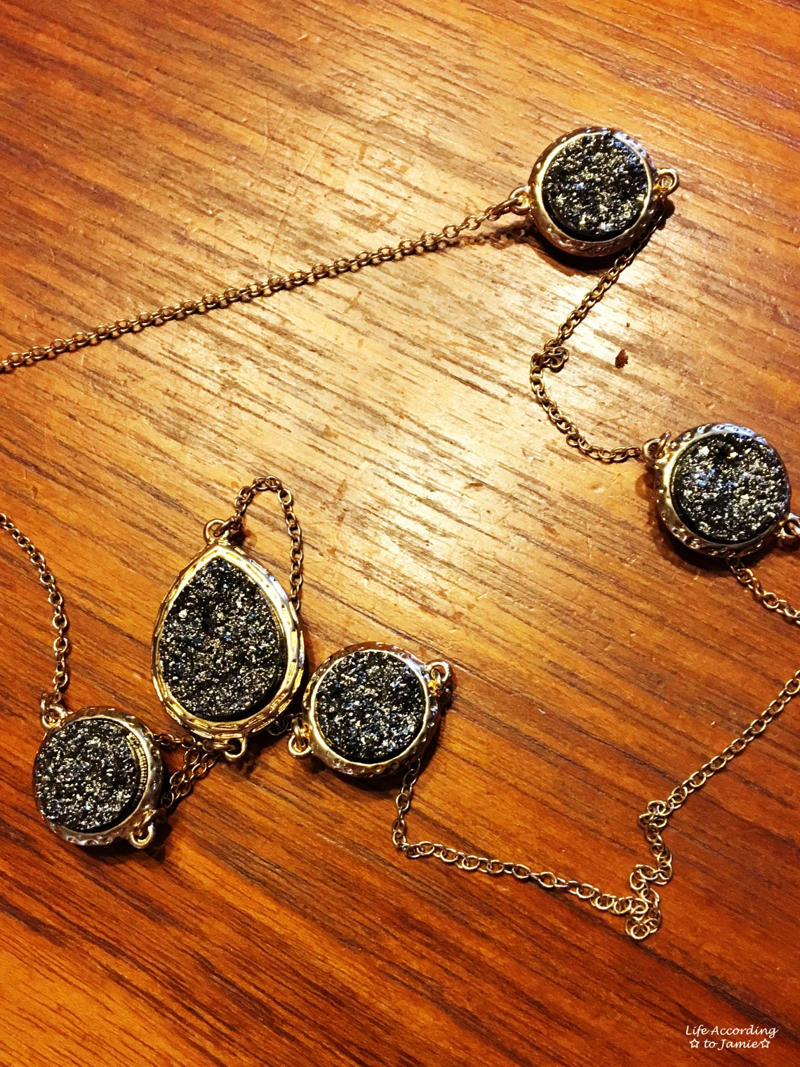 Rock Gem Necklace