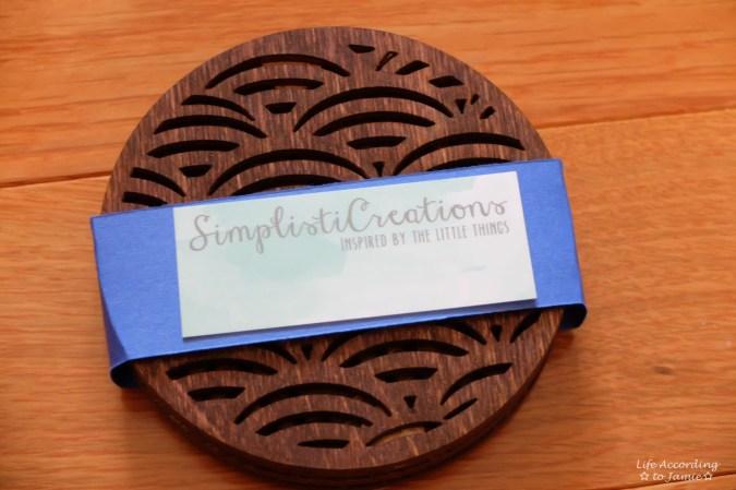 SimplistiCreations Coasters