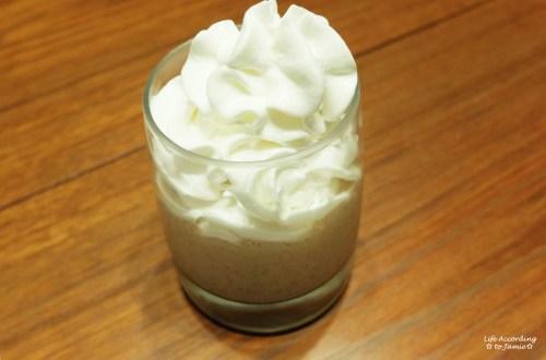 Thin Mint Ice Cream Shake