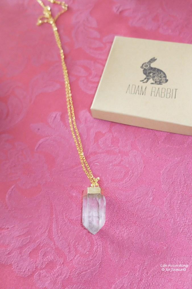 Adam Rabbit - Quartz Necklace 1