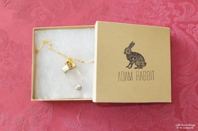 Adam Rabbit - Quartz Necklace