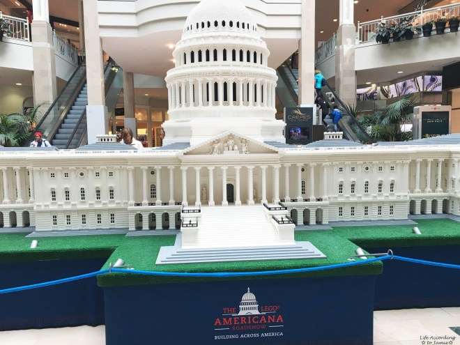 Lego Americana Roadshow - Capitol Building