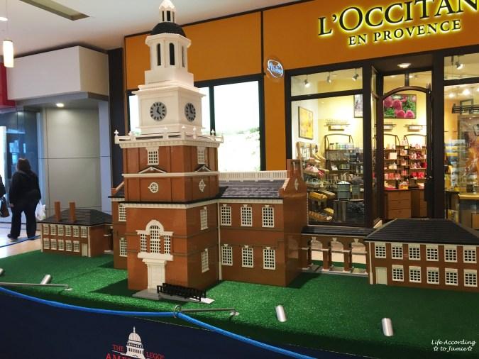 Lego Americana Roadshow - Independence Hall
