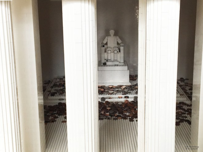 Lego Americana Roadshow - Lincoln Memorial 1