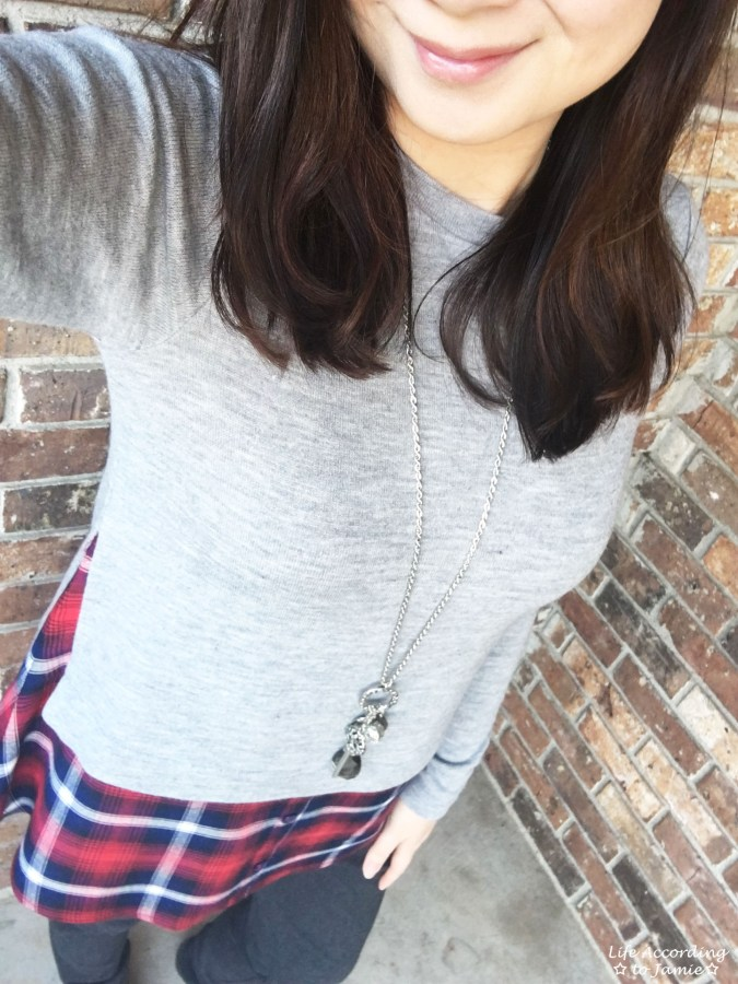 Plaid Layered Top 1