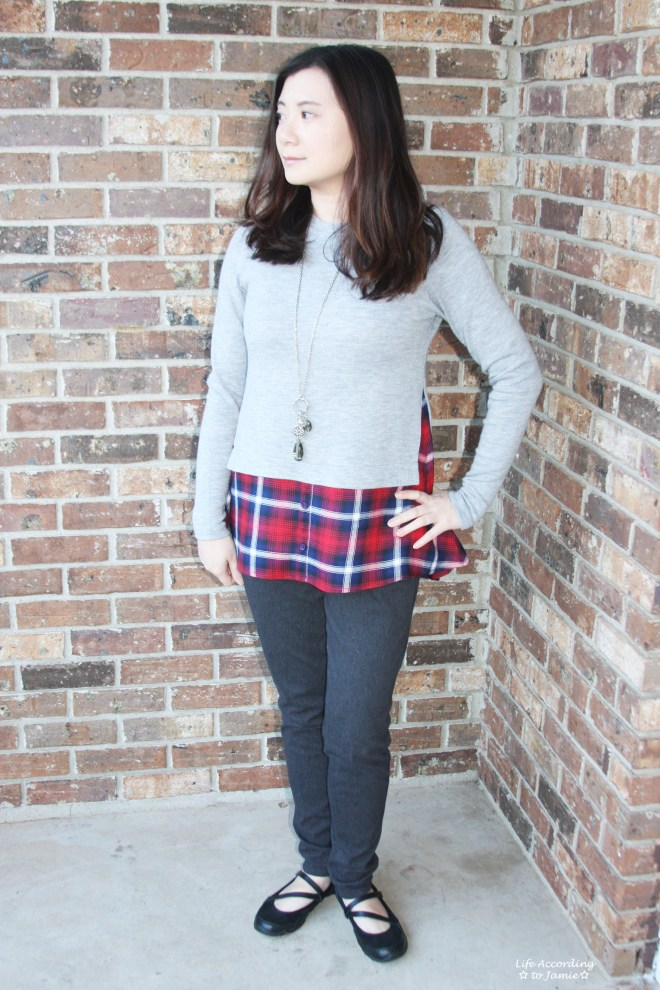 Plaid Layered Top 3