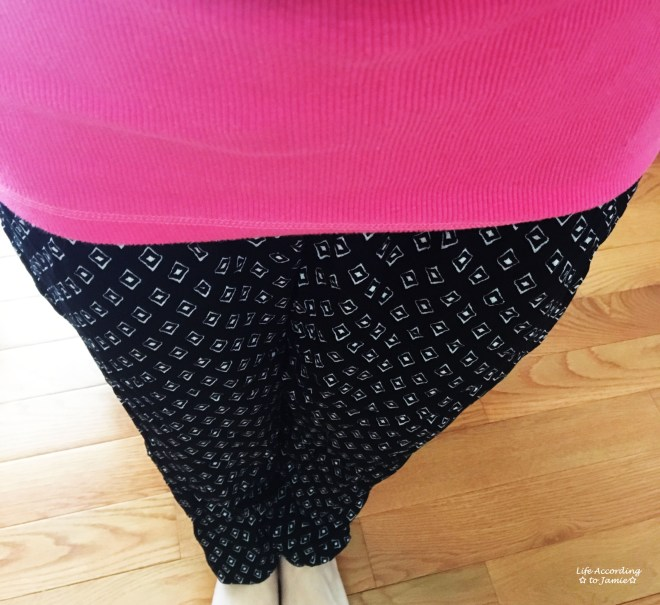 Diamond Print Pants 3