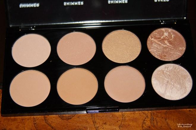 Makeup Revolution - Bronze Palette 1
