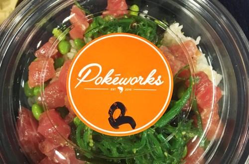 Pokéworks - Ahi Tuna Bowl