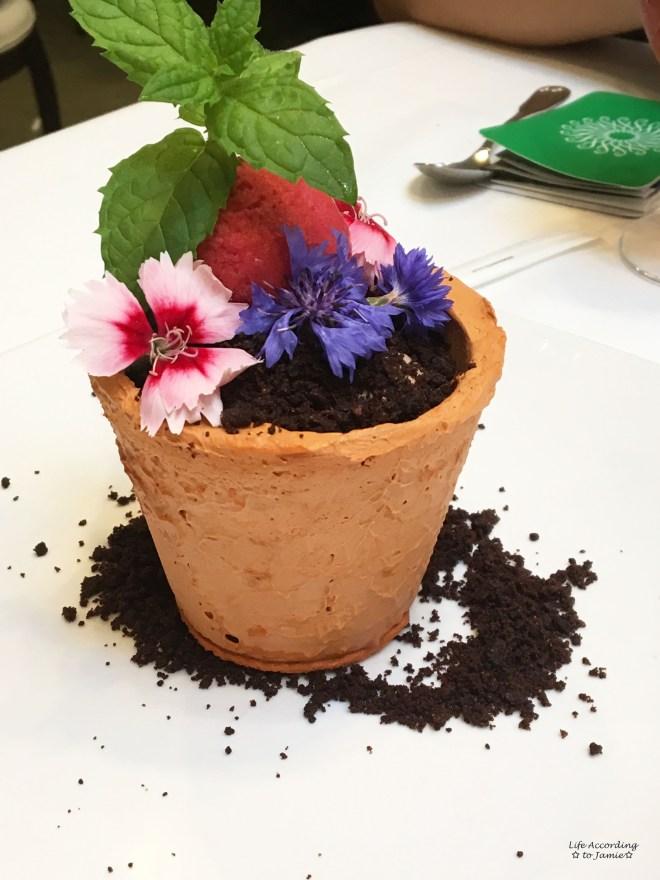 1906 - Flower Pot Dessert