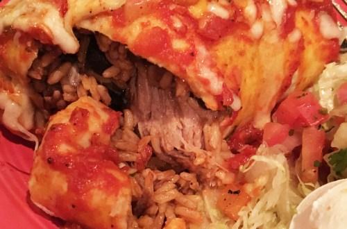 Rosalita's Roadside Cantina - Hawaiian Pork Burrito