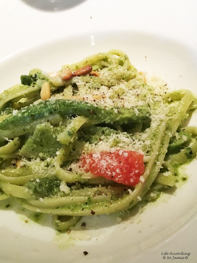 Basil Pesto Linguine
