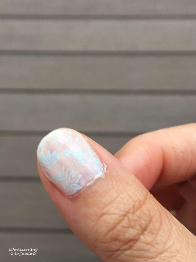 Flower Nail Stamping 4