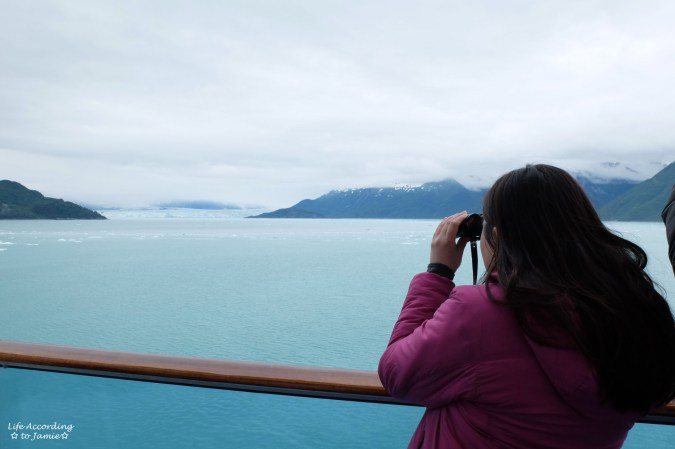 Looking at Hubbard Glacier
