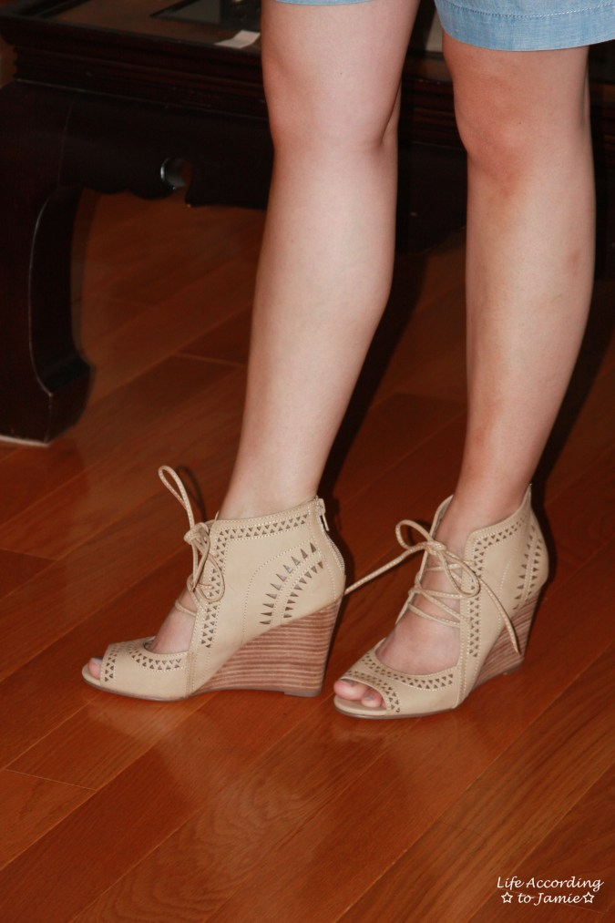 Lace Up Wedges 3