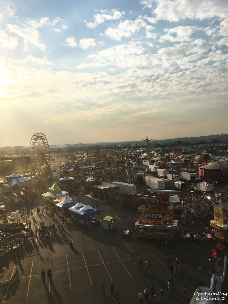 NJ State Fair - Ferris Wheel View