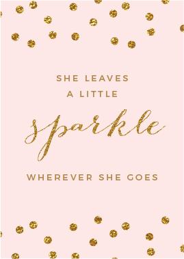 sparkle quote