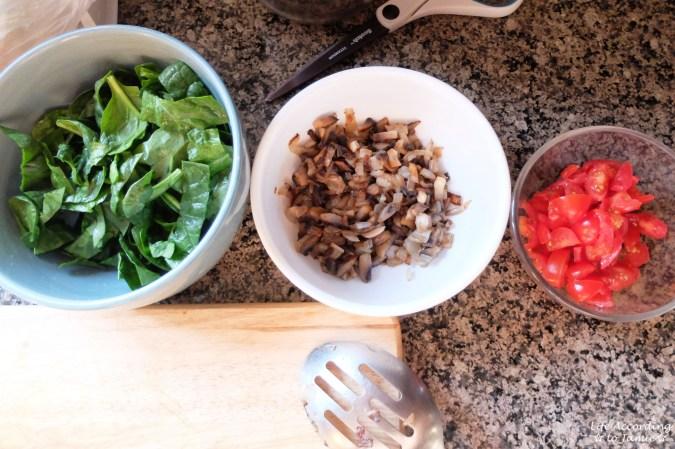 Spinach & Mushroom Stuffed Chicken