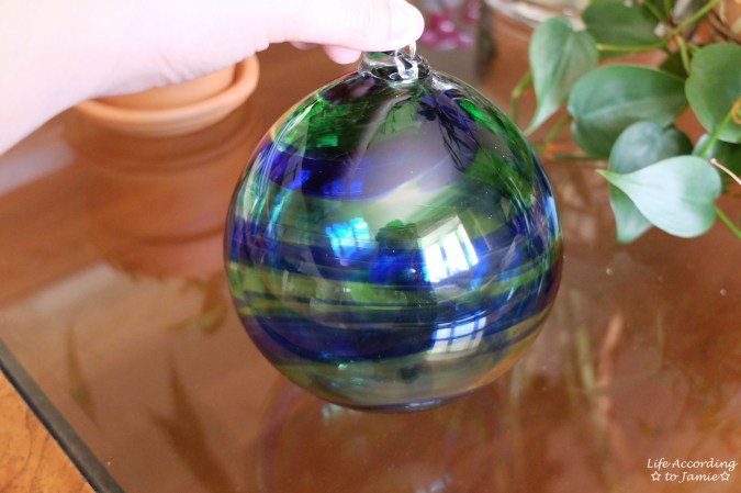Glassblowing - Ornament 1