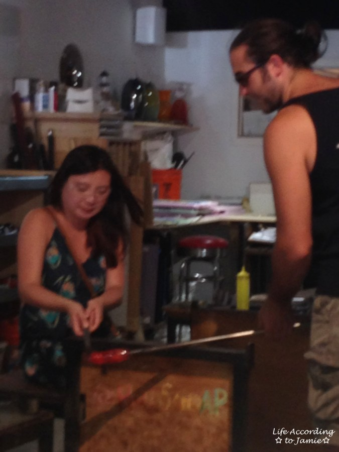 Hot Sand - Glassblowing 2