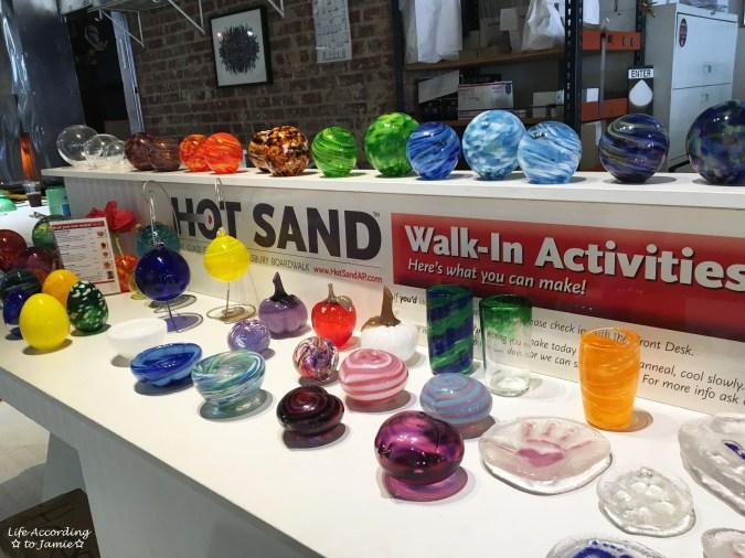 Hot Sand - Glassblowing
