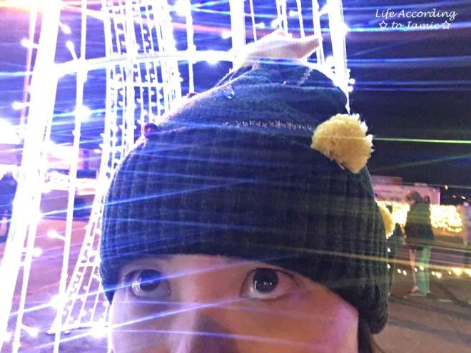 hugs-for-brady-light-show-selfie-in-lights