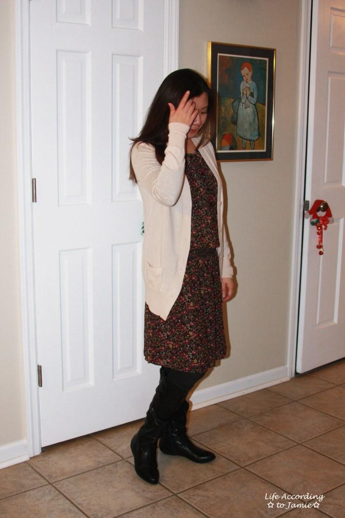 hydrangea-print-blouson-dress-cardigan-1