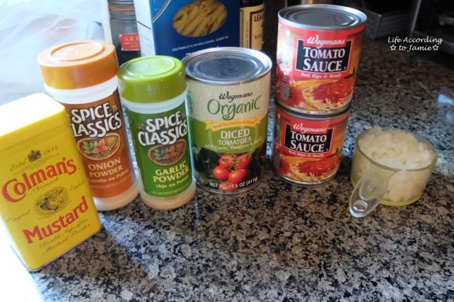 slow-cooker-cheesy-beef-pasta-ingredients