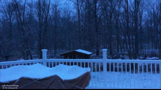 snowy-evening