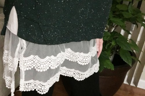 green-speckled-sweater-lace-extender