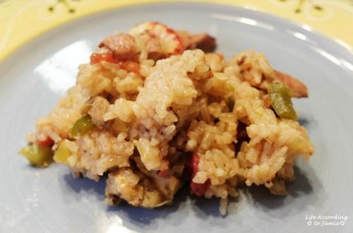Crawfish Jambalaya