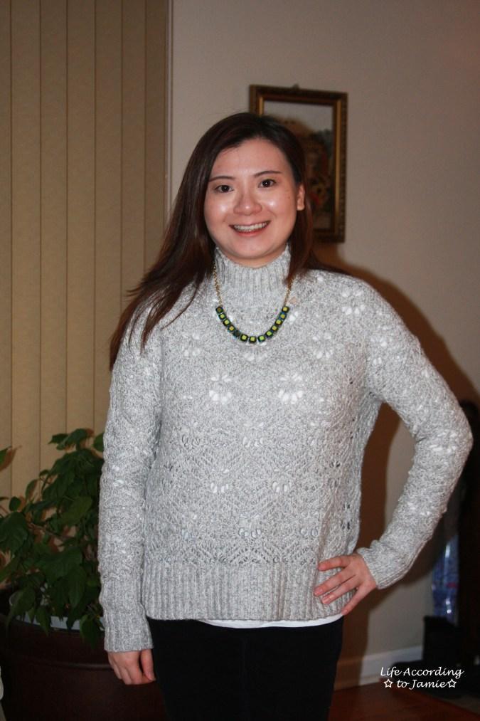 Mock Turtleneck Sweater 2