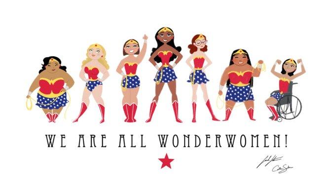 We are all Wonder Women