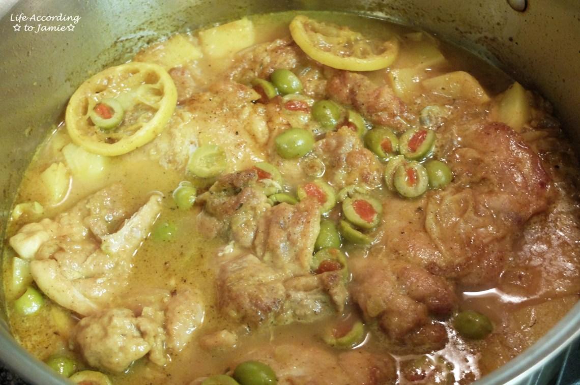 1-Pot Chicken & Potatoes