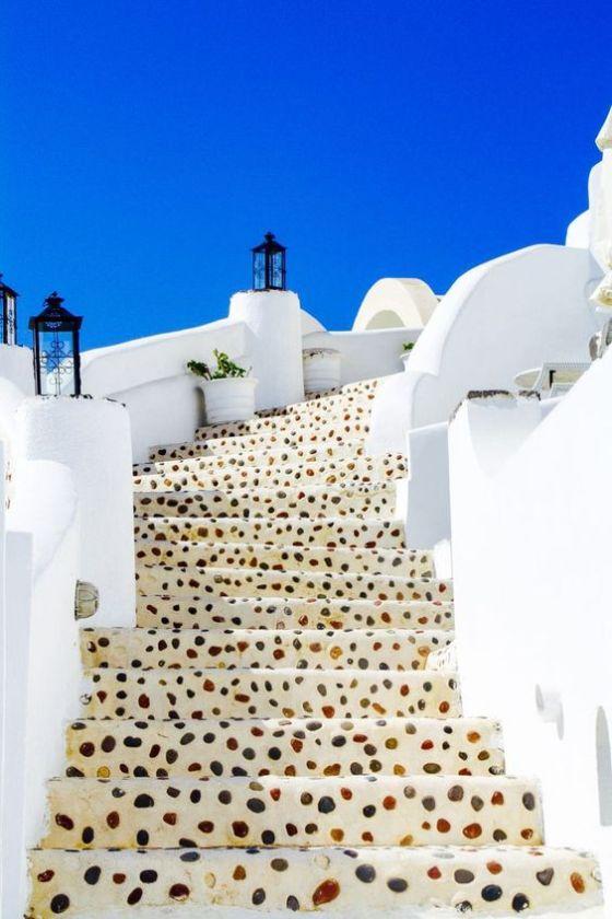 Caldera Steps - Santorini