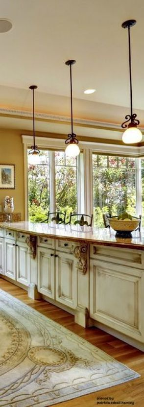 French Country Kitchen - Counter