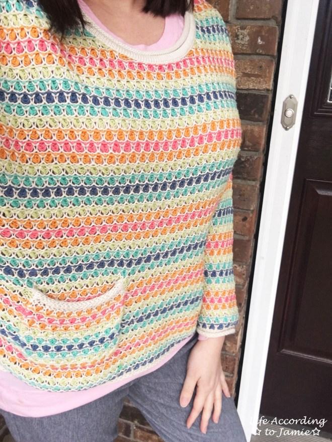 Rainbow Breezy Pullover 2